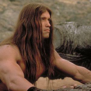 Arnold Schwarzenegger als Conan der Barbar