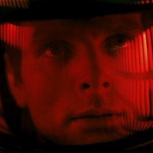 Keir Dullea als Astronaut Dave Bowman