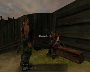 Der Namenlose Held und Diego im Alten Lager