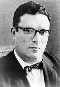 Bild von dem jungen Isaac Asimov