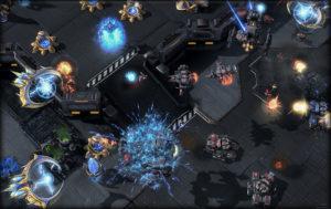 Spielszene aus StarCraft II