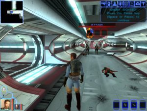 Spielszene aus Star Wars: Knights of the old Republic