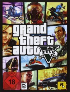 PC-Cover von grand theft auto V