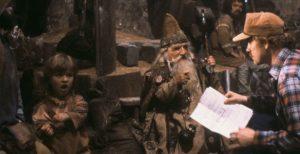 Regisseur beim Filmdreh von Willow (1988)
